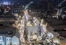 Zile de iarnă la Odorheiu Secuiesc